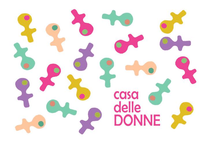 logo Casa delle Donne di Udine dedicata a Paola Trombetti