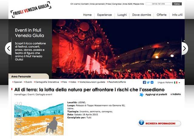 Turismo FVG: Ali di terra