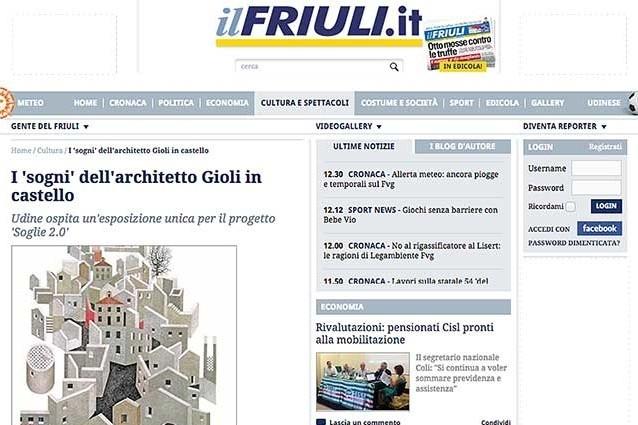 particolare immagine pagina web sito Ilfriuli.it