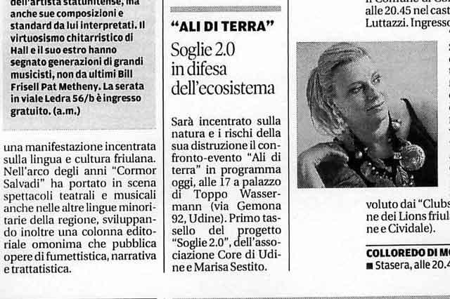 Messaggero Veneto: Ali di terra