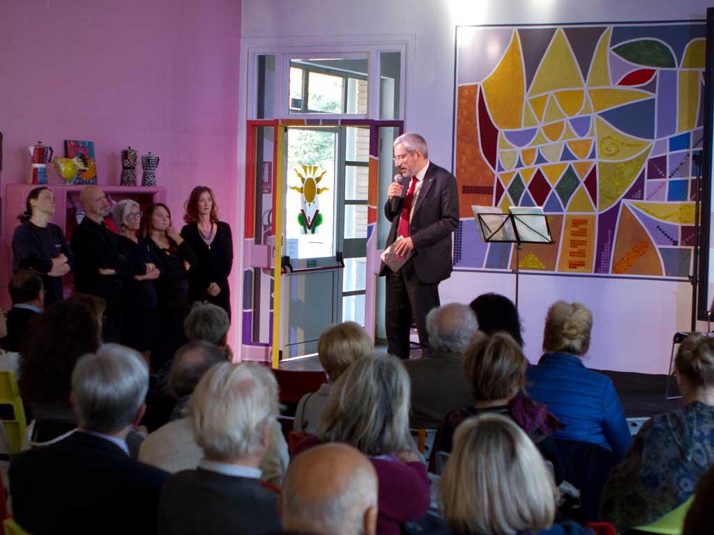 il sindaco di Udine interviene all'evento Migrare