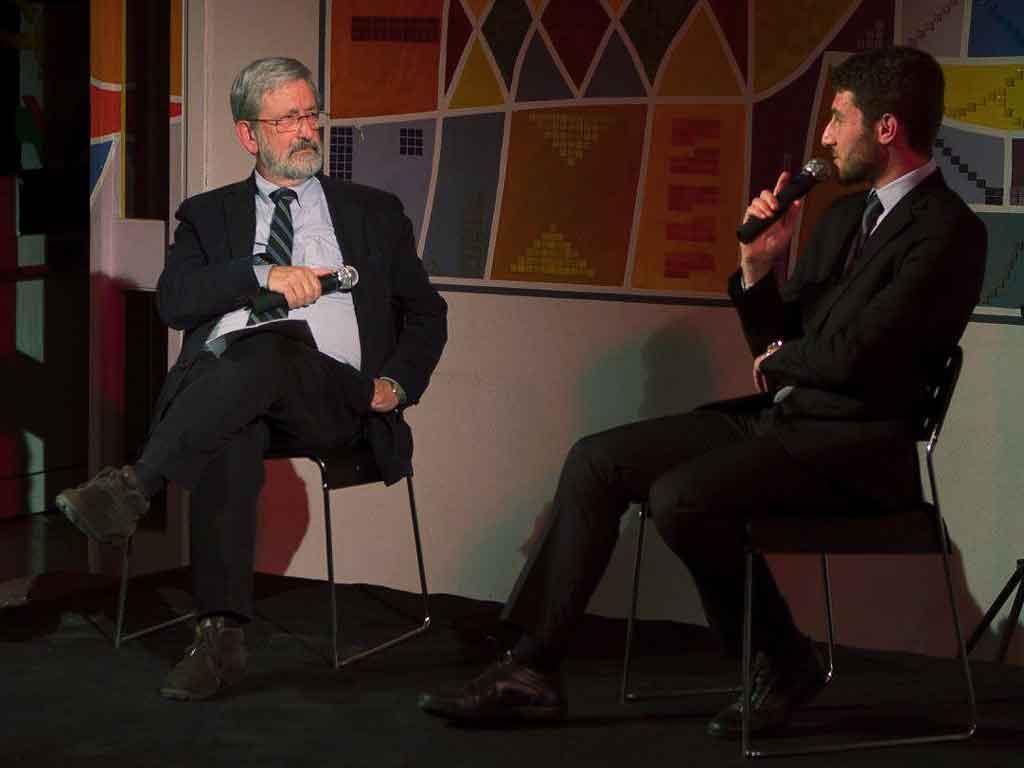 Gianpaolo Carbonetto dialoga con Pietro Aliprandi