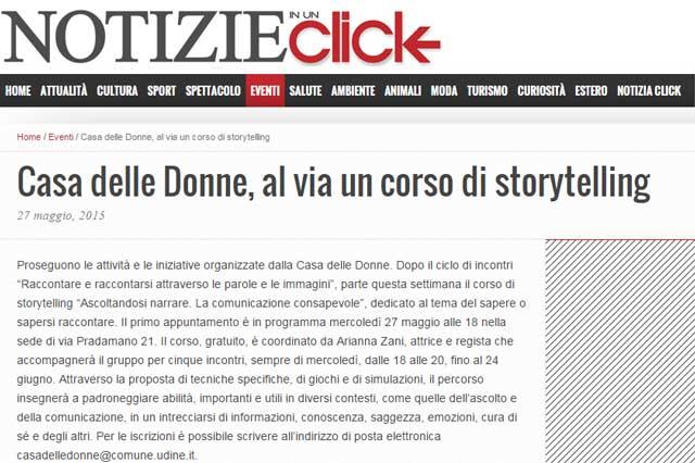 ritaglio pagina web sito notizieinunclick
