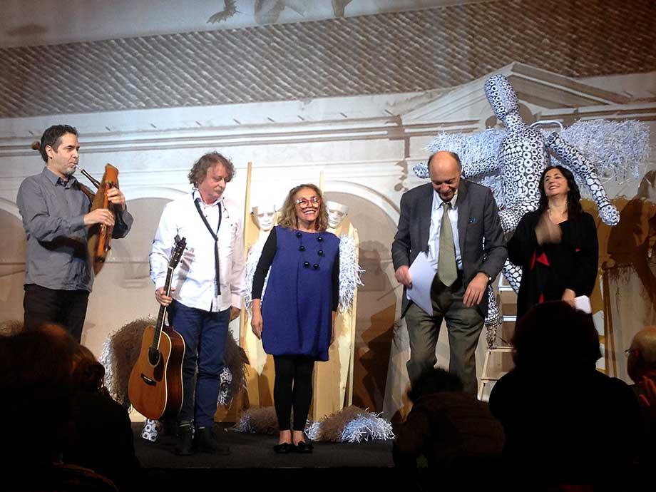 gli Altrioh!, Giuseppe Bevilacqua e Rita Maffei sul palco