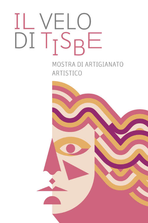 manifesto mostra il Velo di Tisbe